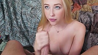All natural college blondie fucked