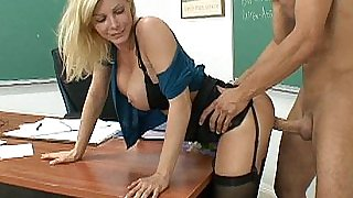 I fucked my teacher Ms. Holly Sampson