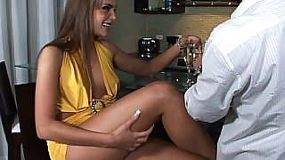 Nika Noir having sex after party