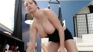 Huge American Tits On Webcam