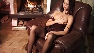 Exotic pornstar Monica Sweetheart in crazy blowjob, brunette sex movie