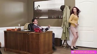 Monique gets fucked hard by her boss