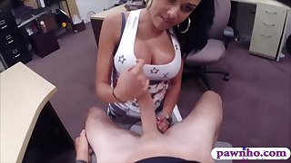 Curvy latina pounded by pervert pawn man