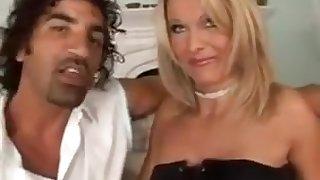 A guy fucks 2 hot milfs in the ass