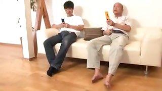 Japanese mature pantyhose