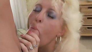 Hottest pornstar in amazing blonde, mature porn video