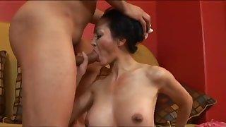 Fabulous pornstar Ange Venus in exotic mature, interracial porn movie