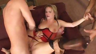 Incredible pornstar Harmony Rose in crazy dp, blonde xxx video