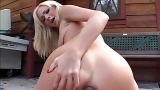 Horny pornstar Hillary Scott in incredible blonde, anal porn movie