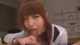 Best Japanese whore Akiho Yoshizawa in Crazy Blowjob JAV scene