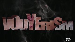 XXX SHADES - Russian brunette Lovenia Lux fucks Spanish teacher, gets cum in mouth