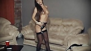 I DANCE YOU WANK 3 - vintage 90's striptease dance & JOI
