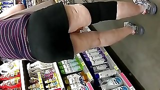 Thick granny bending