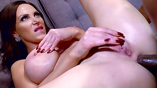 Top milf fucked by black man and made to swallow big time