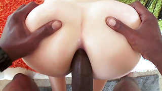 Big black cock experience for amazing Maci May
