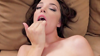 Nikki Next fucked hard and made to swallow big time