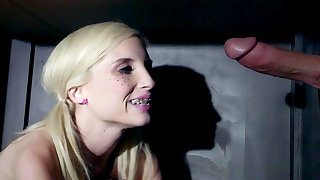 Extra inches to suck on for slutty young doll, Piper Perri
