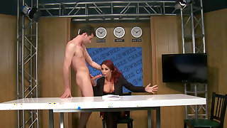 Anal sex on live cam with superb Monique Alexander