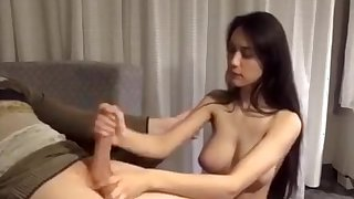 Ideal Large Breasted Brunette Bj Hj That Is Teen Cosmetic