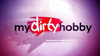 My Dirty Hobby - Her first porn video!!