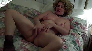 Horny Homemade record with Masturbation, Solo scenes