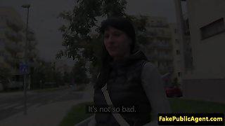 outside banged picked up amateur gets spunked
