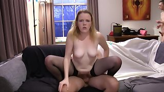 Hottest Amateur record with Small Tits, Stockings scenes
