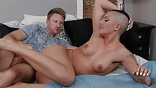 Sexy girlfriend explores anal sex with partner